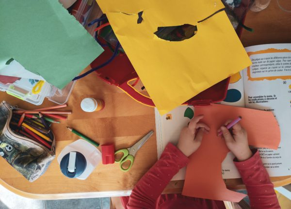 Four Benefits of Crafting for children